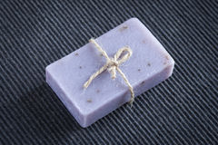Soap bar with natural ingredients Stock Image