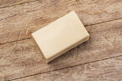 Soap Bar On The Wooden Royalty Free Stock Photos