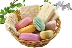 Soap bars Stock Image