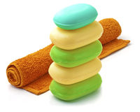 Soap Bars. Royalty Free Stock Photo