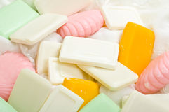 Soap Bars Background Stock Photos