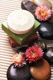 Soap bars, still life. Soap bars with peebels, still life composition Royalty Free Stock Image