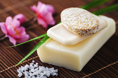 Soap for bathroom Royalty Free Stock Photo