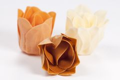Soap bildat som en blomma royaltyfri bild