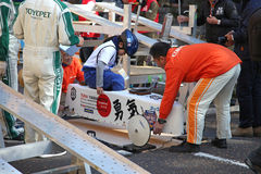 SOAP BOX CAR EVENT IN YOKOHAMA Stock Photos