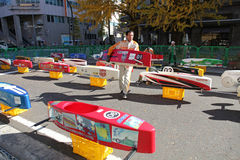 SOAP BOX CAR EVENT IN YOKOHAMA Royalty Free Stock Photo