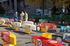 SOAP BOX CAR EVENT IN YOKOHAMA Royalty Free Stock Photo