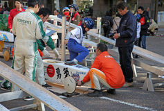 SOAP BOX CAR EVENT IN YOKOHAMA Stock Photos