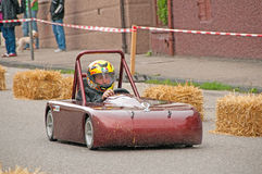 Soap box derby Stock Images