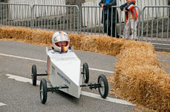 Soap box derby Royalty Free Stock Photo