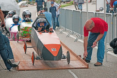 Soap box derby Royalty Free Stock Image