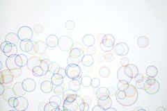 Soap bubble. TEXTURE PATTERN-soap bubbles isolated on white stock illustration