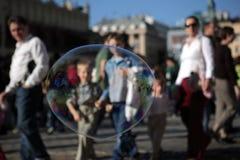 Soap bubble Royalty Free Stock Photos
