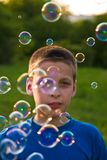 Soap bubble Stock Image