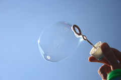 Soap-bubble Stock Photo