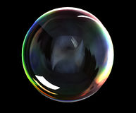Soap bubble. Use screen layer mode in PS for transparent bubbles Stock Photo