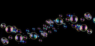 Soap bubble background Stock Photography