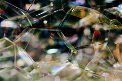 Soap Bubble Close up Royalty Free Stock Photos