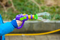 soap bubble gun Royalty Free Stock Photo