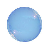 Soap bubble isolated Stock Images