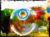 Soap bubble Royalty Free Stock Photo