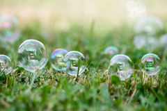 Soap-bubbles Royalty Free Stock Photography