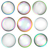 Soap bubbles Royalty Free Stock Photos