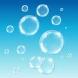 Soap bubbles royalty free illustration