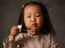 Soap bubbles Stock Images
