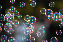 Soap bubbles Stock Photography