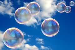 Free Soap Bubbles Royalty Free Stock Photography - 4807577