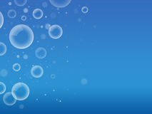 Soap bubbles background royalty free illustration