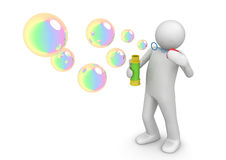 Soap bubbles - Lifestyle Royalty Free Stock Image