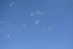 The soap bubbles Royalty Free Stock Photography