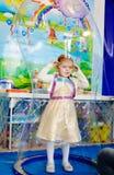 Soap bubbles  party Stock Photo