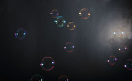 Soap bubbles Royalty Free Stock Photography