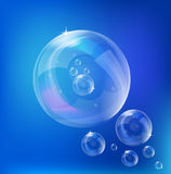 Soap Bubbles - vector Royalty Free Stock Image