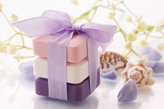 Soap collection Stock Photography