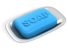 The soap Royalty Free Stock Photo