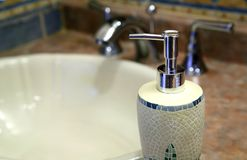 Soap dispenser Royalty Free Stock Images