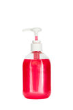 Soap dispenser isolated on white Royalty Free Stock Photography
