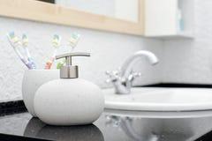 Soap dispenser Stock Photo