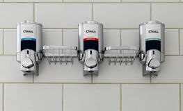 Soap Dispensers Royalty Free Stock Image