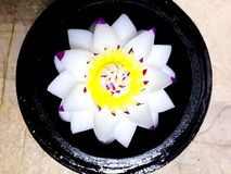 Soap Flower Carvings Stock Image