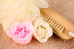 Soap Flowers Royalty Free Stock Photos
