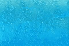 Soap foam bubbles in a bathtub in the bathroom royalty free illustration