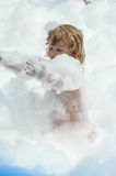 Soap foam party Royalty Free Stock Photos