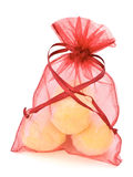 Soap gift bag Royalty Free Stock Photos