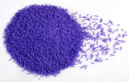 Soap Granules. Used in detergents and cleaning products royalty free stock images