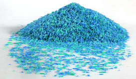 Soap Granules. Used in detergents and cleaning products royalty free stock photo
